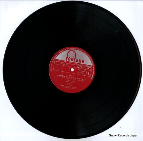 JOCHUM, EUGEN beethoven; symphonie no.5 FG-217 - disc