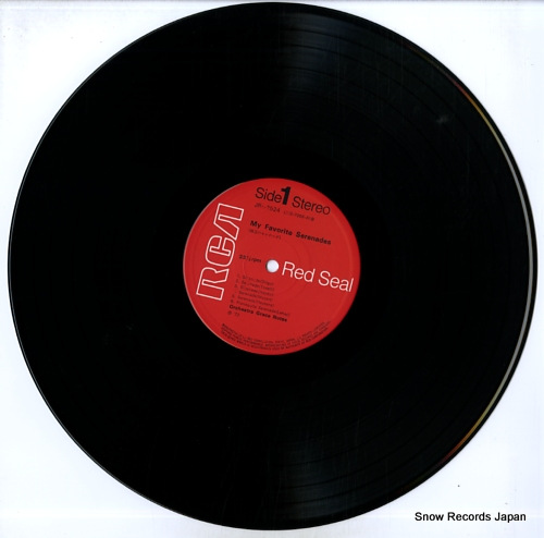ORCHESTRA GRACE NOTES my favorite serenades JRZ-2524 - disc