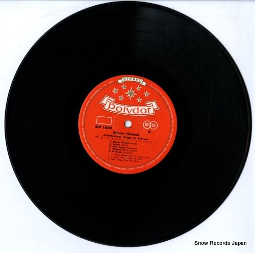 V/A blauer himmel continental tango in stereo SLP-1009 - disc