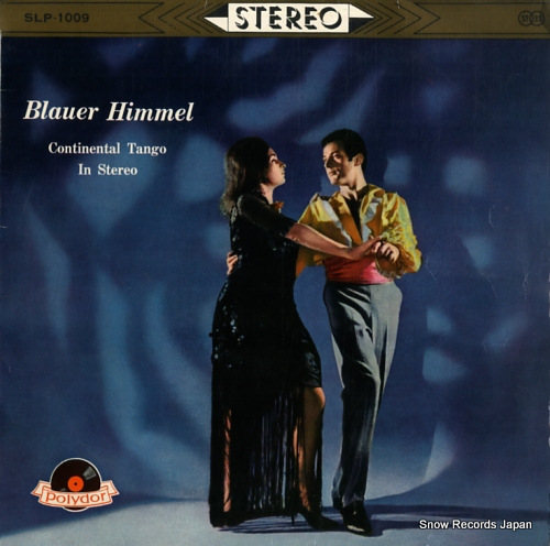 V/A blauer himmel continental tango in stereo SLP-1009 - front cover