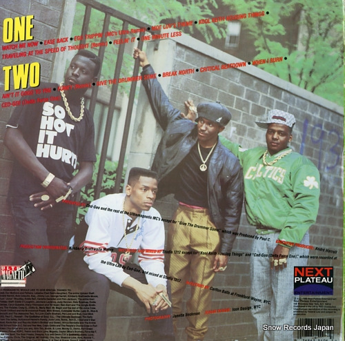 ULTRAMAGNETIC MC'S critical beatdown NPE5496-1 - back cover