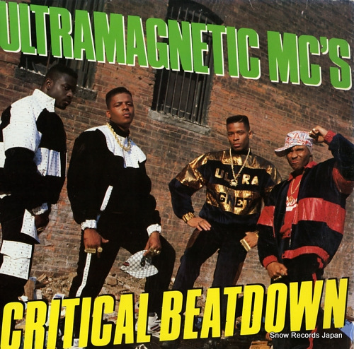 ULTRAMAGNETIC MC'S critical beatdown NPE5496-1 - front cover