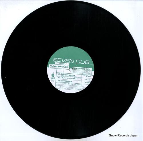 SEVEN DUB run for cover 19808 - disc