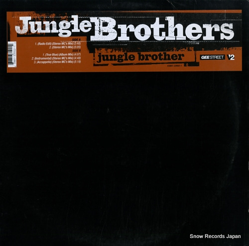 JUNGLE BROTHERS jungle brothers 63881-33502-1 - front cover
