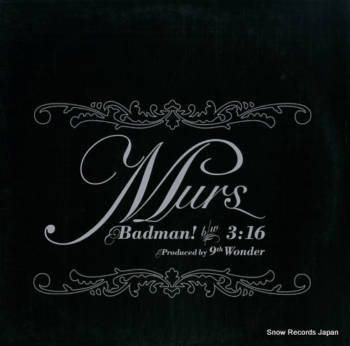 MURS badman DJX82 - front cover