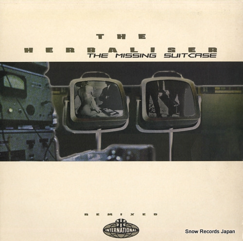 HERBALISER, THE the missing suitcase remixed ZEN1281R - front cover
