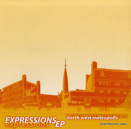 NORTH WEST METROPOLIS expressions ep UR003 - front cover