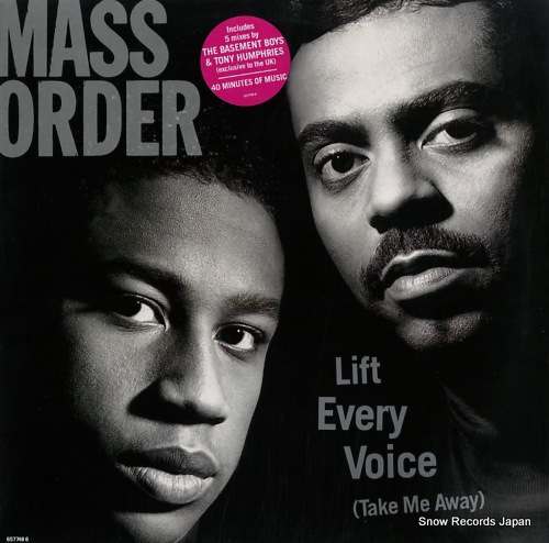 MASS ORDER life every voice (take me away) 6577486 - front cover