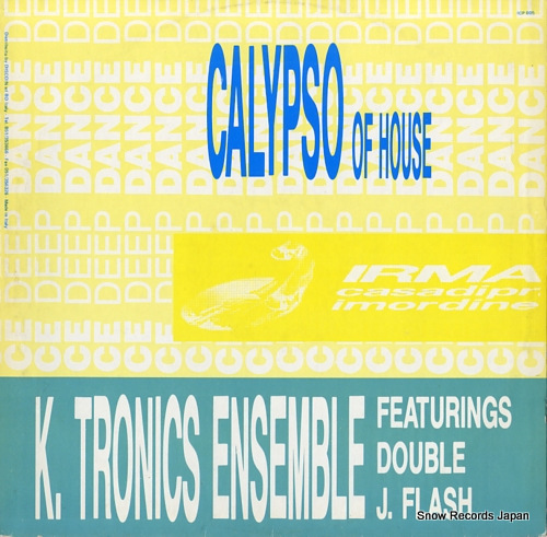 K. TRONICS ENSEMBLE house of calypso ICP005 - back cover