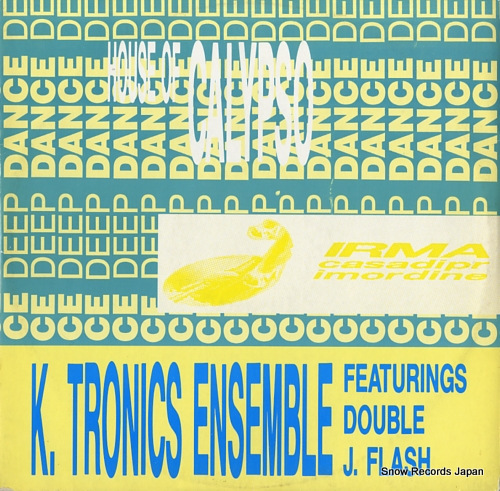 K. TRONICS ENSEMBLE house of calypso ICP005 - front cover