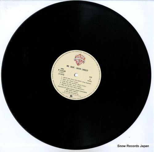 LINDLEY, DAVID mr. dave P-13160 - disc