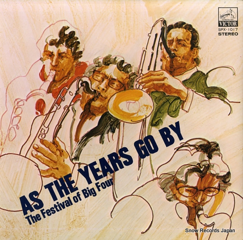 V/A as the years go by / the festival of big four SPX-1017 - front cover