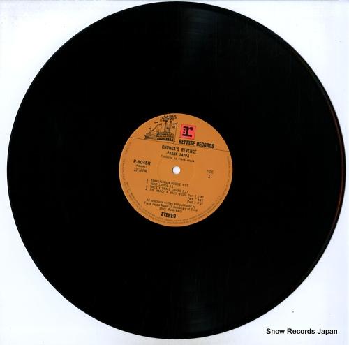 ZAPPA, FRANK chunga's revenge P-8045R - disc