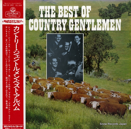 COUNTRY GENTLEMEN, THE the best of the country gentlemen SLC(M)240 - front cover