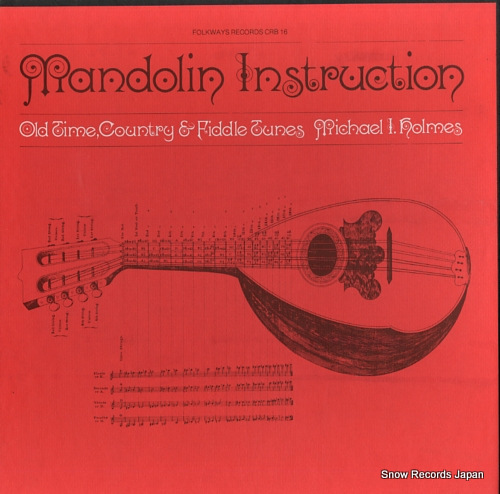 HOLMES, MICHAEL I. mandolin instruction CRB16 - front cover