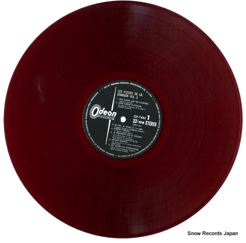 V/A les fleurs de la chanson vol.3 OP-7484 - disc