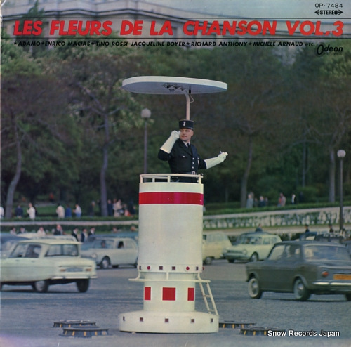 V/A les fleurs de la chanson vol.3 OP-7484 - front cover