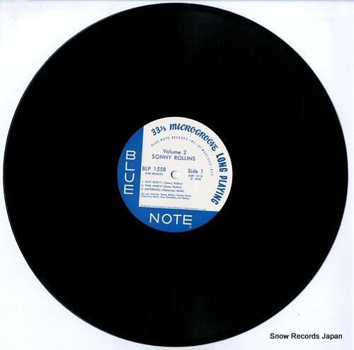 ROLLINS, SONNY vol.2 GXK8035(M) - disc