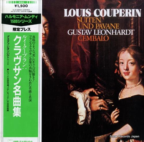 LEONHARDT, GUSTAV couperin; suiten und pavane ULS-3366-H - front cover