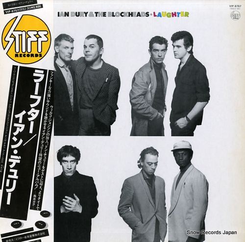 DURY, IAN, AND THE BLOCKHEADS laughter VIP-6757 - front cover