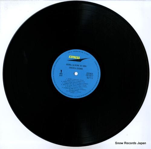 SUSANA, GRACIELA adoro, la reine de saba ETP-9072 - disc
