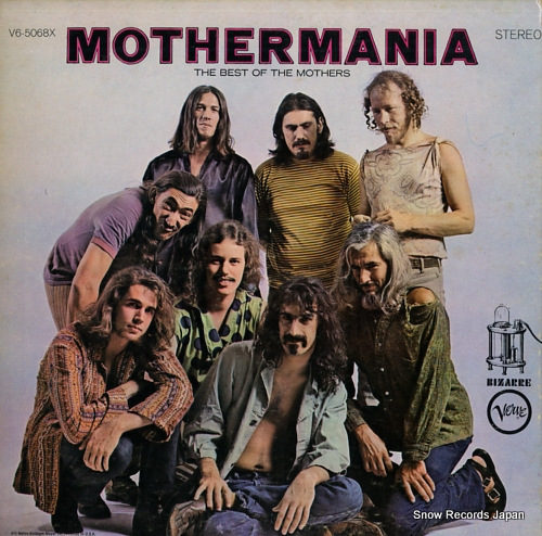 MOTHERS OF INVENTION, THE mothermania / the best of the mothers V6-5068X - front cover