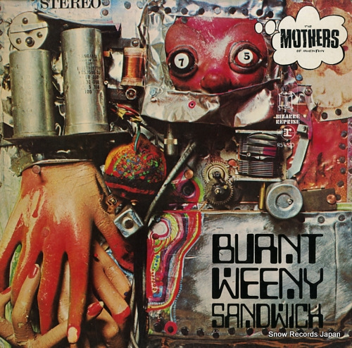 MOTHERS OF INVENTION, THE burnt weeny sandwich RS6370 - front cover