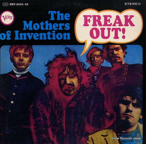 MOTHERS OF INVENTION, THE freak out! SMV-9045/46 - front cover