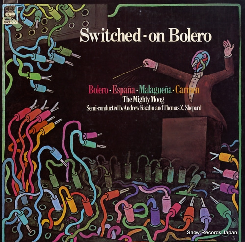 KAZDIN, ANDREW / THOMAS Z.SHEPARD switched; on bolero 23AC551 - front cover
