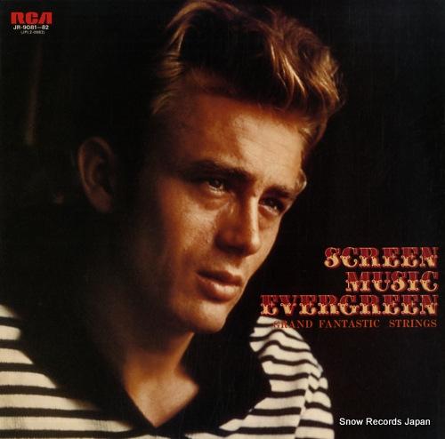 GRAND FANTASTIC STRINGS - screen music evergreen - 33T