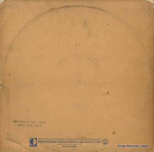 WHO, THE live at leeds DL79175 - back cover