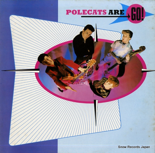 POLECATS polecats are go! 6359057 - front cover