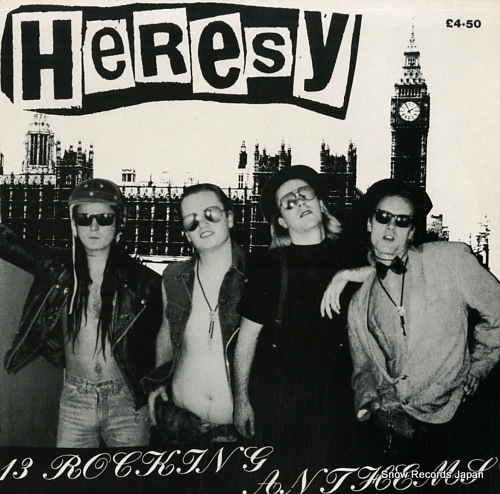 HERESY 13 rocking anthems FACE07 - front cover