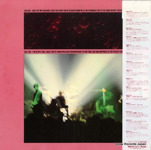 STRANGLERS, THE la folie K28P-219 - back cover
