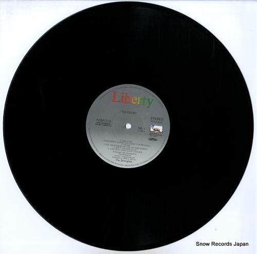 STRANGLERS, THE la folie K28P-219 - disc