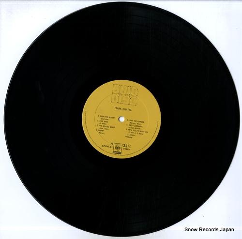 SINATRA, FRANK gold disc SOPN31 - disc