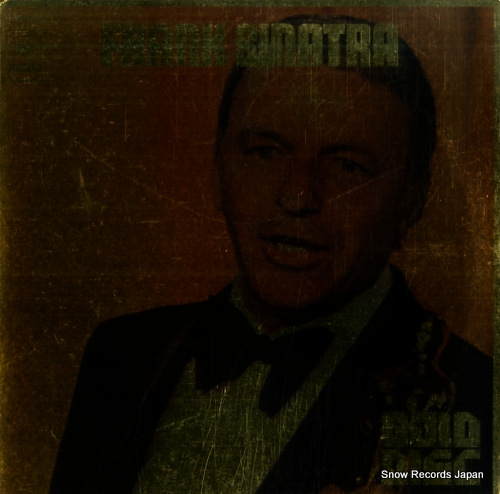 SINATRA, FRANK gold disc SOPN31 - front cover