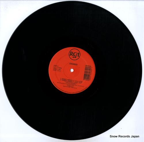 DESKEE dance, dance 2649-1-RD - disc