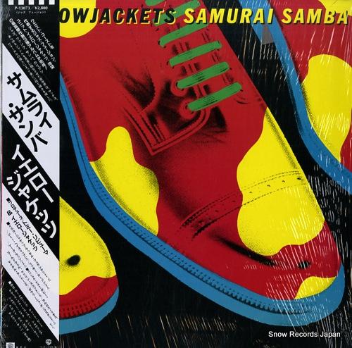 YELLOWJACKETS samurai samba P-13073 - front cover