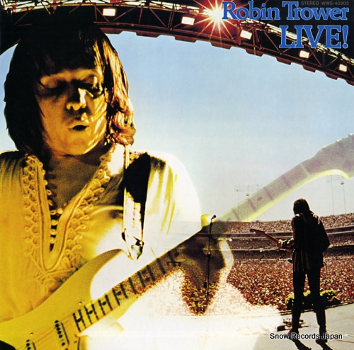 TROWER, ROBIN robin trower live! WWS-40202 - front cover