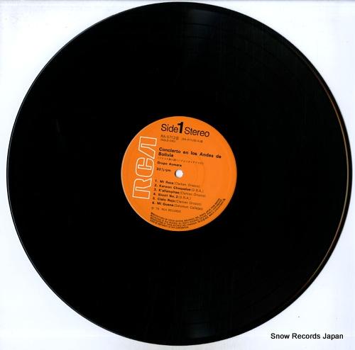 GRUPO AYMARA concierto en los andes de bolivia RA-5712(S) - disc