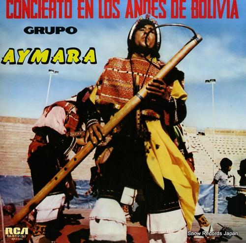 GRUPO AYMARA concierto en los andes de bolivia RA-5712(S) - front cover