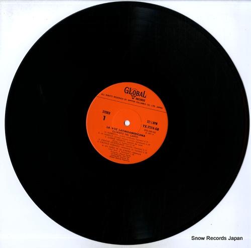 CUARTETO DEL CANTO la voz latino americana YX-7174-GB - disc