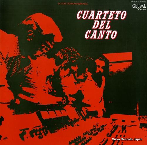 CUARTETO DEL CANTO la voz latino americana YX-7174-GB - front cover