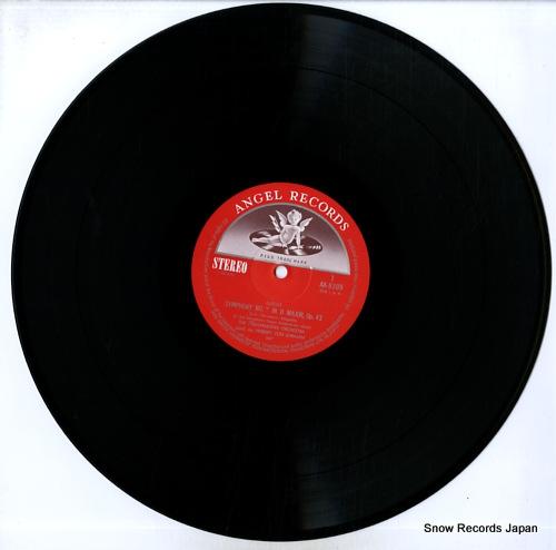 KARAJAN, HERBERT VON sibelius; symphony no.2 in d major / symphonic poem 'finlandia' AA-8309 - disc