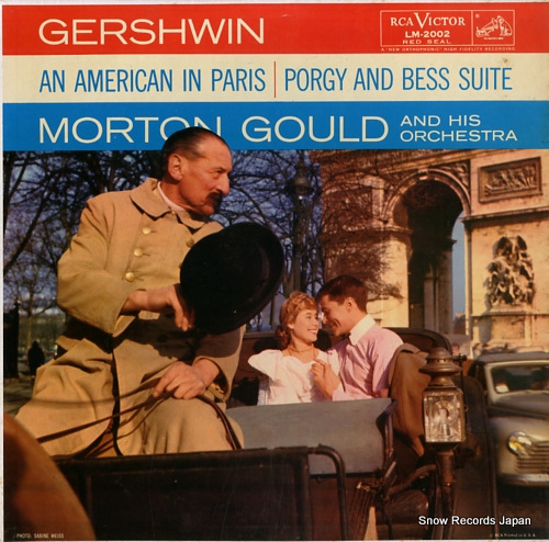 GOULD, MORTON gershwin; an american in paris / porgy and bess suite LM-2002 - front cover
