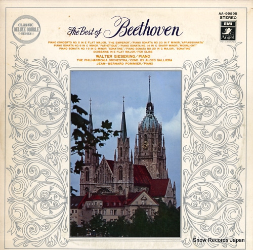 GIESEKING, WALTER the best of beethoven AA-9959B - front cover