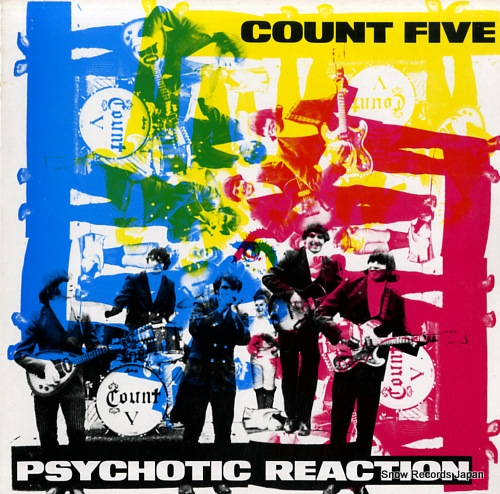 COUNT FIVE psychotic reaction ED225 - front cover