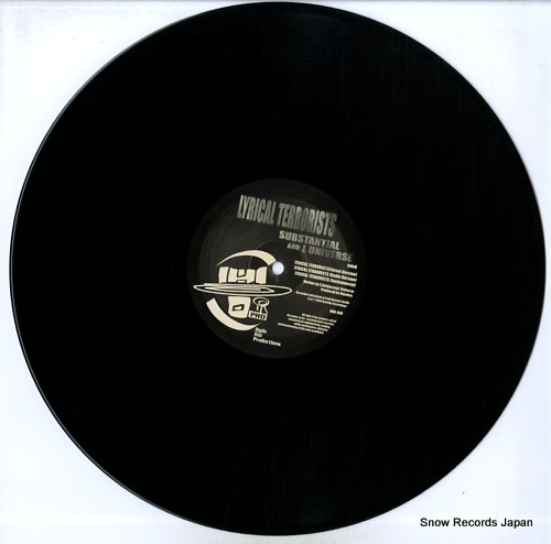 SUBSTANTIAL AND L UNIVERSE lyrical terrorists HOR-008 - disc