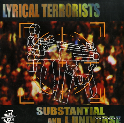 SUBSTANTIAL AND L UNIVERSE lyrical terrorists HOR-008 - front cover